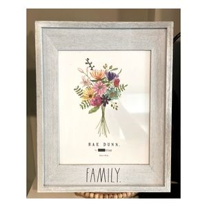 "Rae Dunn ""Family"" Photo Frame"
